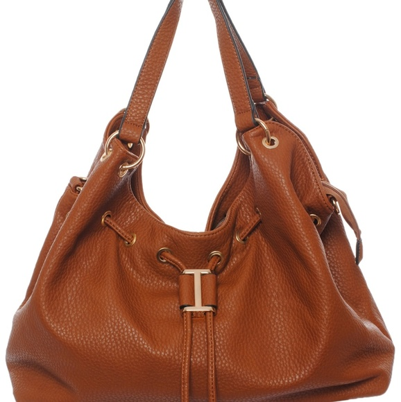My Bag Lady Online Handbags - Slouch Pebbeled Hobo Handbag